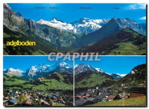 Postcard Modern Adelboden Berner Oberlandt