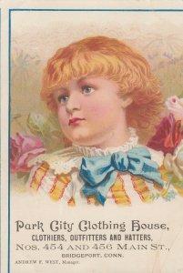 TC: BRIDGEPORT, Connecticut, 1890s ; Park City Clothing House