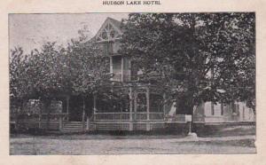 Indiana Hudson Lake Hotel 1908