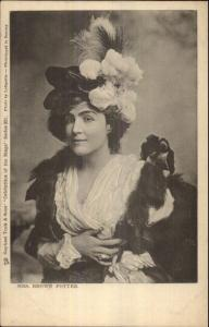 TUCK Celebrities of Stage - Actress Mrs. Brown Potter c1905 Postcard