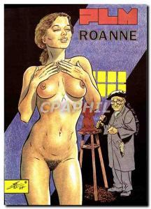 Postcard Modern Naked erotic illustrator Charles Berg PLM Roanne