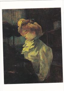 La Modiste Mademoiselle Louise Blouet d'Enguin by Henri de Toulouse-Lautrec H...