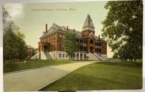 1910s Jackson, Mississippi Blind Institute Postcard