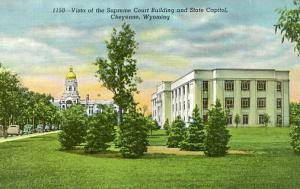 WY - Cheyenne, State Capitol & Supreme Court Building