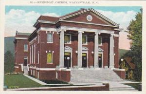North Carolina Waynesville Methodist Church