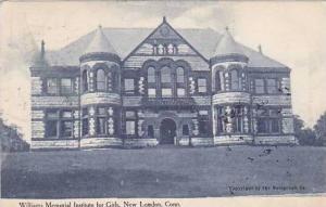 Connecticut New London Williams Memorial Institue For Girls