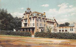 Chambersburg PA~Wilson College~Main Building~Mansard Roof~1908 Kiser of Chicago