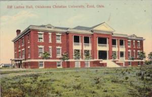 Oklahoma Enid Ladies Hall Oklahoma Christian University 1910