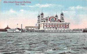 US New York, Ellis Island Emigrant Building