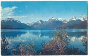 Lake McDonald, Glacier National Park, Montana, 1964 used