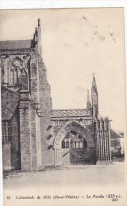 France Dol de Bretagne La Cathedrale Le Porche 1927