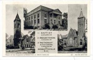 Churches, Bennetsville, South Carolina, 20-40s