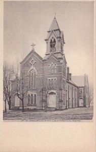 Ohio New Lexington M E Church Albertype