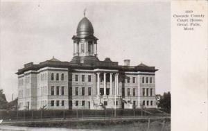 Montan Great Falls Cascade County Court House