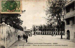 CPA AK Fortier 106 SAINT-LOUIS Place du Gouvernemtn SÉNÉGAL (670682)