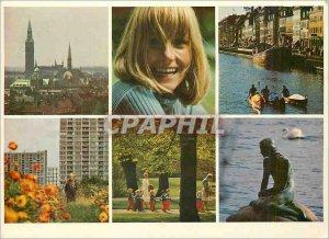 Modern Postcard Denmark