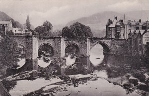 LLANGOLLEN, Wales, UK, PU-1905; The Bridge, TUCK # 1968