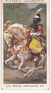 Cigarette Card Player's Dandies No 39 The Persian Ambassador