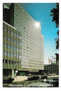 Denmark Copenhagen Sheraton Hotel Danmark Vintage 4X6 Postcard