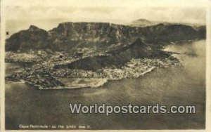 Cape Peninsula South Africa Postal Used Unknown