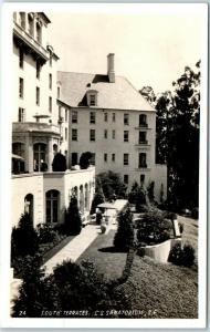 San Francisco RPPC Postcard So. Terraces Christian Science Sanatorium Arden Wood