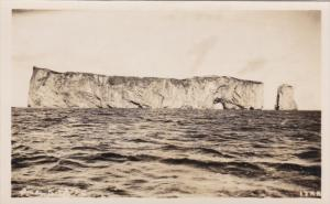 RP, View Of PERCE ROCK, Quebec, Canada, 1920-1940s