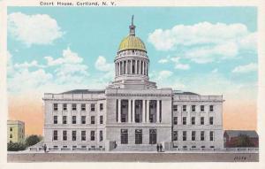 Cortland County Court House - Cortland NY, New York WB
