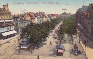 STRASSBURG , France [When Germany] , 1900-10s ; Broglieplatz