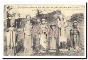 The Holy healers of Notre Dame du Haut near Moncontour Old Postcard