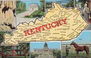 Multi Views With Map Of Kentucky