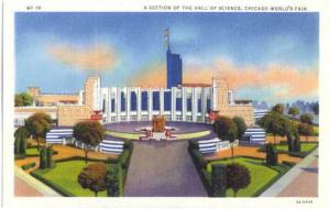 Section of the Hall of Science, Chicago World's Fair Illinois, IL, 1933