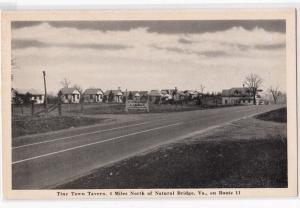 Tiny Town Tavern, Natural Bridge VA