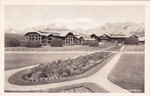 RP: Glacier Park Hotel  , Montana , 1950s