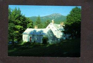 NH A.M.C. AMC Cardigan Lodge Hotel Alexandria New Hampshire Postcard