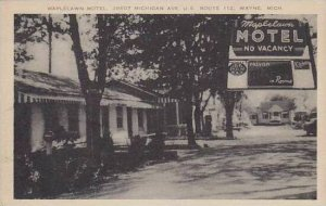 Michigan Wayne Maplelawn Motel