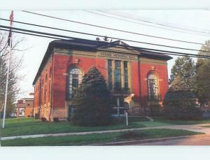 Unused 1980's BUILDING Springville New York NY hn7801