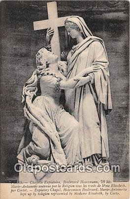 Religion Postcard  Chapelle Expiatoire