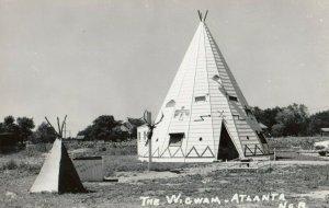 RP: ATLANTA , Nebraska, 1940s ; The Wigwam