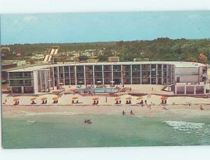 Unused Pre-1980 AMERICANA MOTEL West Panama City Beach Florida FL c2148