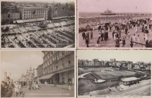 Blankenberge Tennis Courts Plage Digue Centre Casino 4x Blankenberghe Postcard s
