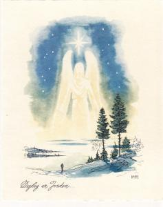 Danish Christmas Card 1945