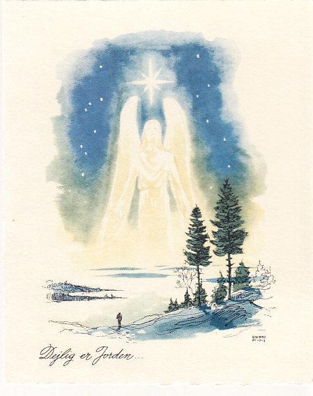 Danish Christmas Card 1945