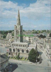 Lincolnshire Postcard - All Saint's Church, Stamford   RR10378