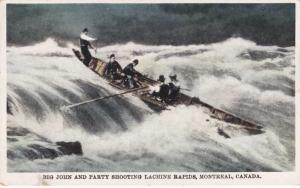 Big John & Party Shooting Lachine Rapids St Lawrence River Montreal QC Quebec
