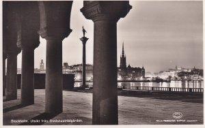 RP; STOCKHOLM, Sweden, 1920-1940s; Utsikt Fran Stadshustradgarden