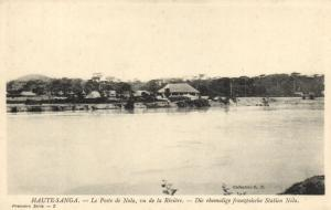 CPA Francais Congo Afrique - La Poste de Nola (86642)