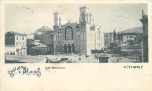 Greece Athens 1901 Metropole