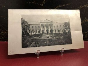 Washington DC White House Novelty Metal Vintage Postcard AA29289
