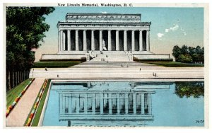 1920's New Lincoln Memorial Washington D.C. PC1994