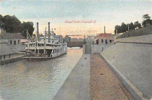 Canal Locks Second to Panama Louisville, KY , USA 1907